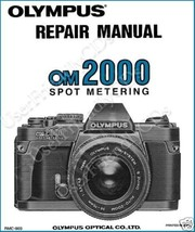 Olympus OM-2000 OM2000 SERVICE MANUAL & PARTS & OWNER CLASSIC CAMERA MANUALS CD image 1