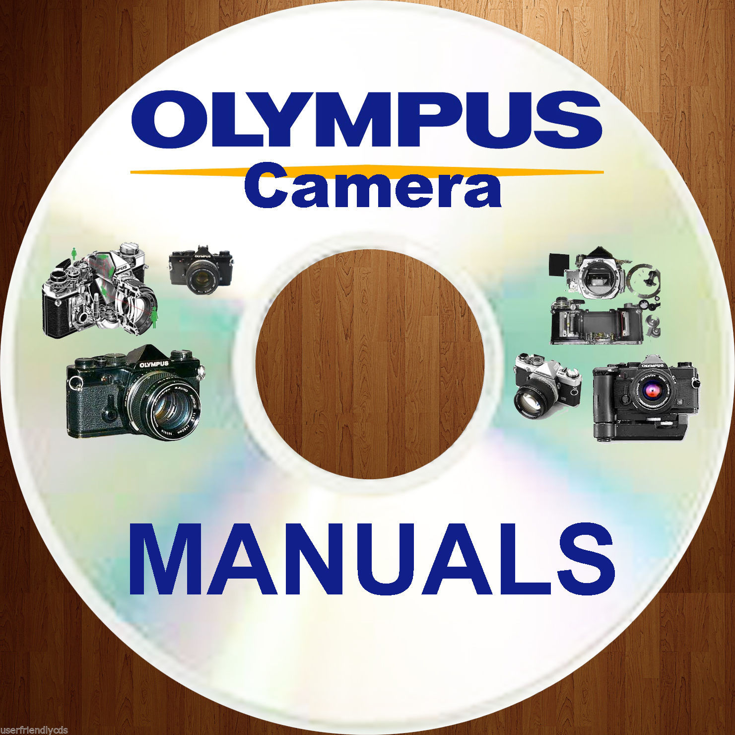 Olympus OM-2000 OM2000 SERVICE MANUAL & PARTS & OWNER CLASSIC CAMERA MANUALS CD image 3