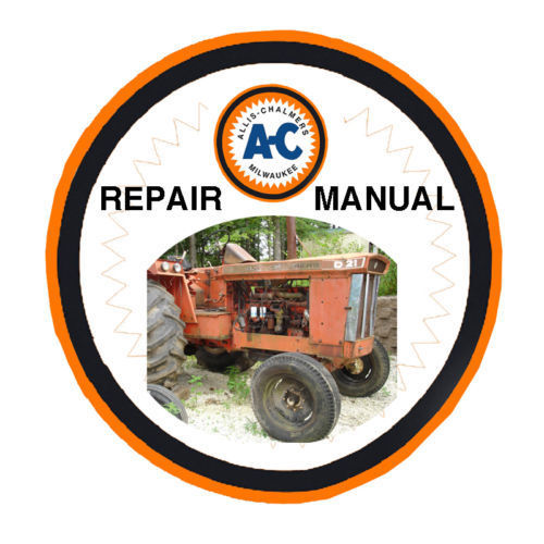 Allis Chalmers AC D-21 D21 II Tractor Service Repair SHOP MANUAL - SEARCHABLE CD
