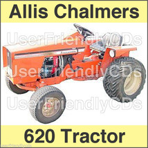 Allis Chalmers 620 TRACTOR SERVICE MANUAL & Operators OWNERS User -2- MANUALS CD image 1