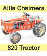 Allis Chalmers 620 TRACTOR SERVICE MANUAL & Operators OWNERS User -2- MA... - $22.95