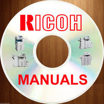 Ricoh B/W Analog copier SERVICE MANUALS manual & PARTS CATALOG on a DVD image 1