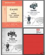 Case VA Series Tractor Engine SERVICE & PARTS Catalogs & OPERATOR -6- Ma... - $14.25
