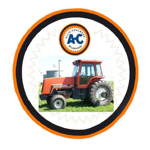 Operators Manual Allis Chalmers 8050 8070 Diesel Tractor