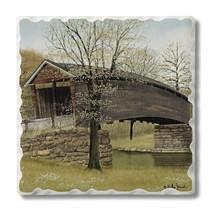 Old Humpback Bridge Tumbled Tile Single Coaster - $2.99