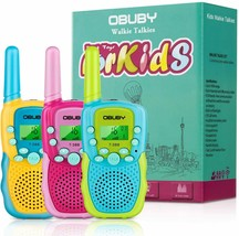 Walkie Talkies for Kids 22 Channels 2 Way Radio 3 KMs Long Range with Ba... - $46.30