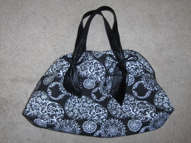 LuLu XL Satchel Purse Handbag Tote Bag Lulu Guinness
