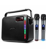 60W PA System, MAONO Wireless Karaoke Machine with Two Metal UHF Wireles... - $123.86