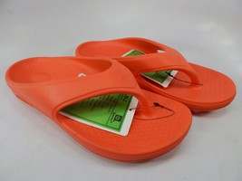 Spenco Fusion 2 Size 8 M (B) EU 39 Women's Lightweight Flip Flop Sandals Orange