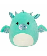 Squishmallow New Kellytoy 8 Inch Miles The Dragon- Super Soft Plush Toy ... - $28.70