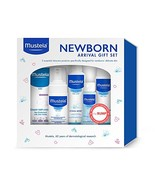 Mustela Newborn Arrival Gift Set, Baby Bath Time and Skin Care Essential... - $37.31