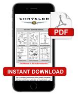 2004 - 2008  CHRYSLER PACIFICA SERVICE REPAIR SHOP MANUAL - INSTANT DOWN... - $14.95