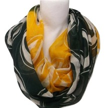 Green Bay Packers Infinity Scarf Football Nfl Officially Licensed Neck Sheer Nwt - $14.49