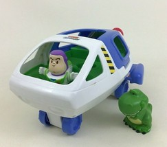 Fisher Price Little People Toy Story Light up Buzz Lightyear Spaceship R... - $47.47