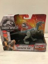 "Jurassic World Fallen Kingdom ""Battle Damage"" Velociraptor ""Blue"" Jurass... - $13.99"
