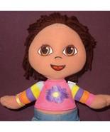 "Dora The Explorer Doll Plush 11"" Soft & Stylish 2003 Fisher Price Toy - $15.56"