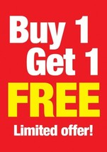 Buy one get one free LIMITED to 1 person. Can be pulled at any time  - $0.00