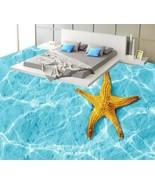 3D Sparkling Water Star Floor WallPaper Murals Wall Print Decal 5D AJ WA... - $65.44+