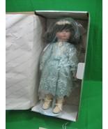 Sandra Kuck Doll ~ Reading with Teddy ~ Hamilton Collection ~ Hand Paint... - $28.01