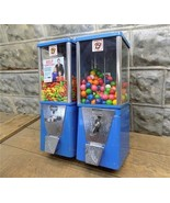 2 Astro Vending Machines Gumball Candy Peanuts Bubble Gum Vendor Vintage - $159.00