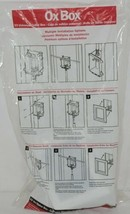 Sioux Chief Ox Box 696-G1000MF Ice Maker Outlet Box Multiple Installation Option image 1