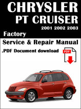 Chrysler PT Cruiser Service & Repair Manual - $7.95