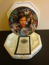 Star Wars Han Solo Heroes and Villains Plate, Hamilton w/coa - $26.72