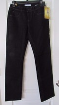 Lee Perfect Fit Straight-Leg Jeans Phantom (Black) Women's Sz 4M NWT MSR... - $25.02