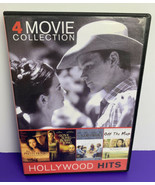 4 Movie Collection DVD 2012 All Pretty Horses Bobby Long Squid Whale Off the Map - $4.21
