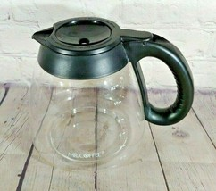 Mr. Coffee 12-Cup Original Glass Coffee Pot Concave Flip Top - $17.81