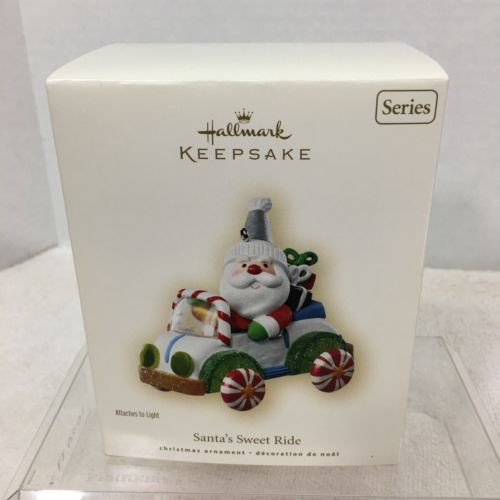 Primary image for 2007 Santas Sweet Ride #1  Hallmark Christmas Tree Ornament MIB Price Tag H2