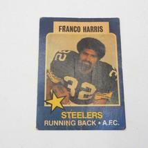 1975 Topps Ciudad Hablar All-Star Serie #17 Franco Harris Pittsburgh Ste... - $30.00