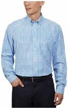 Kirkland Signature Men's Traditional Fit Dress Shirt  Blue/White 17.5-32/33 - $17.81