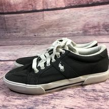 black shoes canvas top 5 5 casual lauren ralph low Polo men's EZ4YYq
