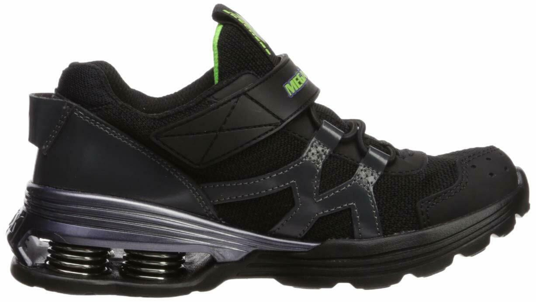 Skechers Kids Boys' MEGA-Volt Sneaker, Black/Purple, 13.5 Medium US Little Kid image 6