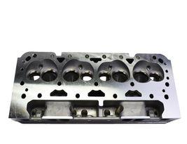 SBC Small Block Chevy GM Angle Plug Aluminum Cylinder Head Set 64cc 2.02/1.60 image 9