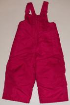Hot Pink Circo Ski Bibs Overalls Girls Size 12 Months Baby Pants Snow - $15.43