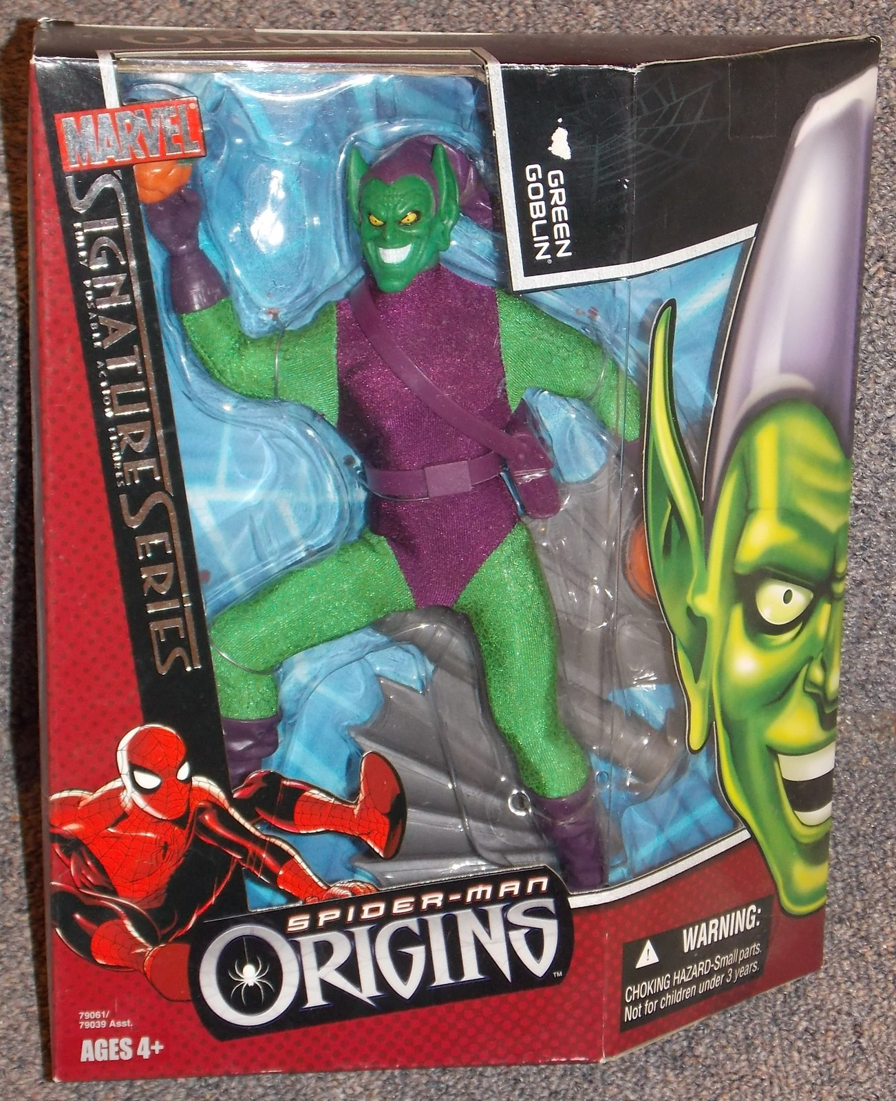Primary image for 2006 Marvel Spider-Man Origins Green Goblin Figure New In Box Signature Series