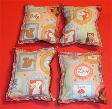 Cat Catnip Pillow Toy - Hand Made Baby Animals Love Patterns Rectangle -... - $5.50