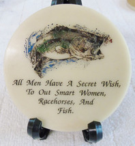 Men's Secret Wish Etched Marble Coasters { Set of 4) Tennessee Mint  Round - $14.95