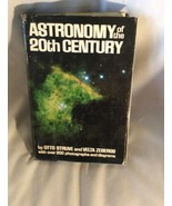 Astronomy Of The 20 Th Century Otto Struve & Velta Zebergs Hardcover Dus... - $4.94