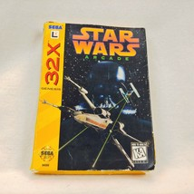 Star Wars Arcade for the Sega Genesis 32x Complete in Box MANUAL Instruction - $24.74