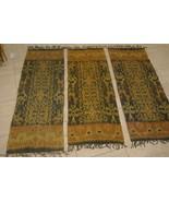 Hand spun Hand woven Intricate Sumba Hinggi Warp Ikat Tapestry Dye Resis... - $94.99
