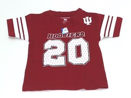 College Kids NCAA Indiana Hoosiers Toddler Football Tee T-Shirt 2 Toddle... - €5,76 EUR