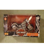 1998 Maisto Harley Davidson XL FLSTF Fat Boy 95th Anniversary Model 1:18 - $18.76