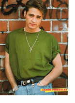 Jason Priestley Jonathan Angel teen magazine pinup clipping hands in his pockets