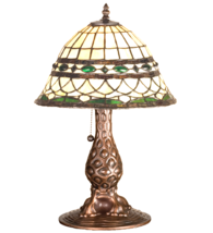 "18""H  Tiffany Roman Accent Table Lamp - 27539 - £235.58 GBP"