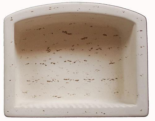 Cast Stone Oval Recess - Ivory