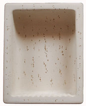 Cast Stone Rectangular Recess - Ivory - $149.95