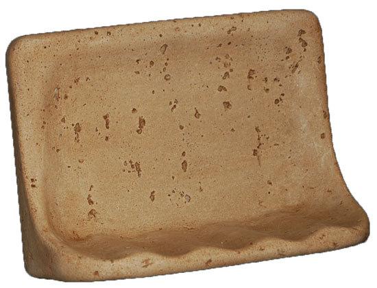 Cast Stone Soap Dish - Mocha Bonanza